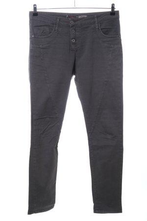 Please Slim Jeans braun Casual-Look