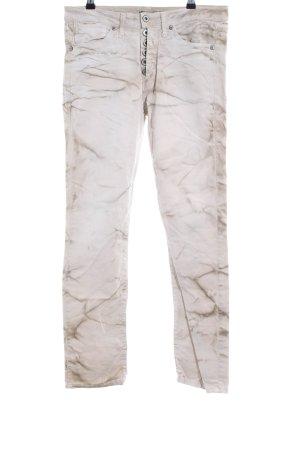 Please Slim Jeans creme Casual-Look