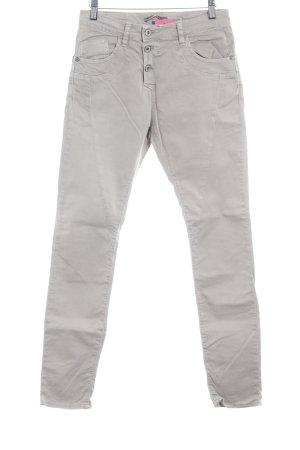 Please Slim Jeans beige Casual-Look