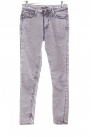 Please Slim Jeans blasslila Casual-Look