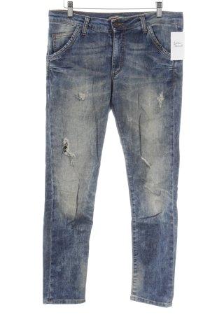 Please Slim Jeans blau Casual-Look