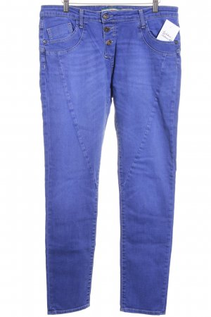 Please Slim Jeans blauviolett Casual-Look