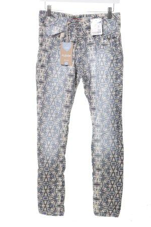 Please Slim Jeans abstraktes Muster Casual-Look