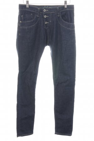 Please Slim Jeans blau Casual-Look