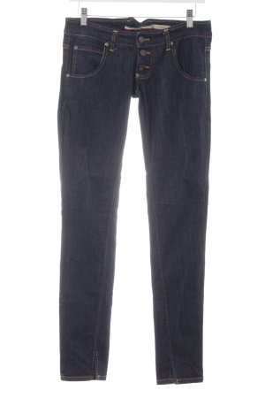 Please Slim Jeans dunkelblau Casual-Look