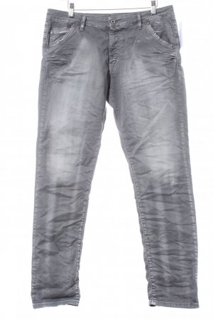 Please Slim Jeans grau Casual-Look