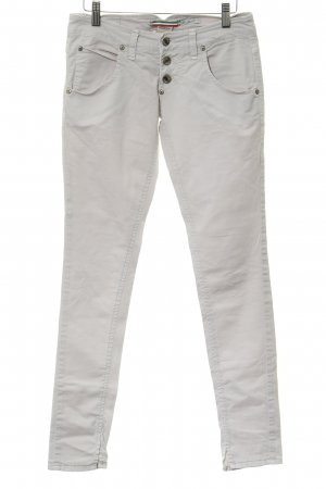 Please Slim Jeans hellbeige Casual-Look