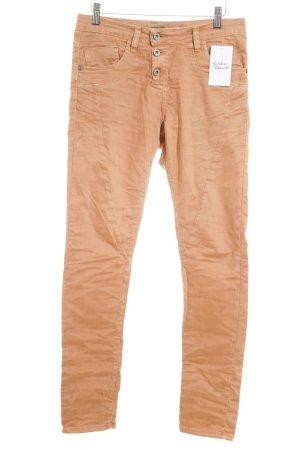 Please Slim Jeans hellbraun Casual-Look