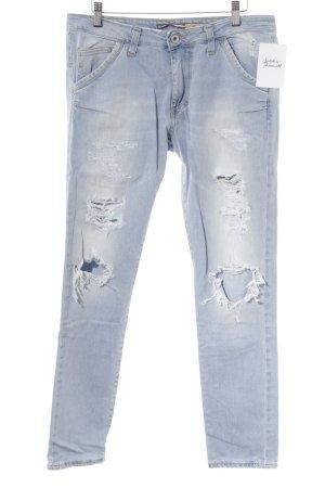 Please Slim Jeans himmelblau Casual-Look