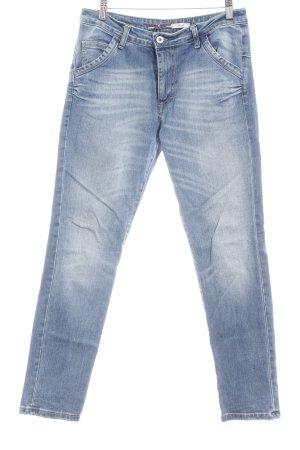 Please Slim Jeans kornblumenblau Casual-Look
