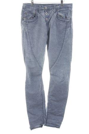 Please Slim Jeans kornblumenblau-himmelblau Casual-Look
