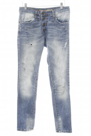 Please Slim Jeans mehrfarbig Casual-Look