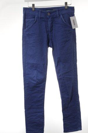 Please Jeans slim bleu fluo style décontracté