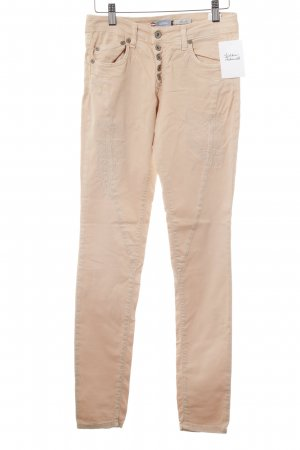 Please Slim Jeans nude Destroy-Optik