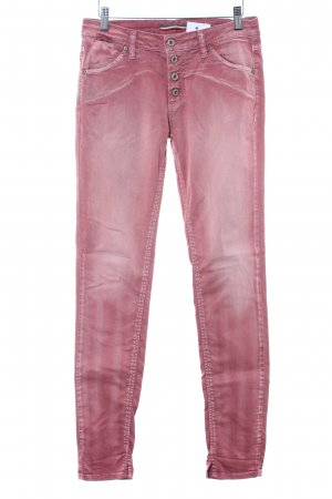 Please Slim Jeans rosa Casual-Look