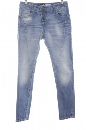 Please Slim Jeans stahlblau Casual-Look