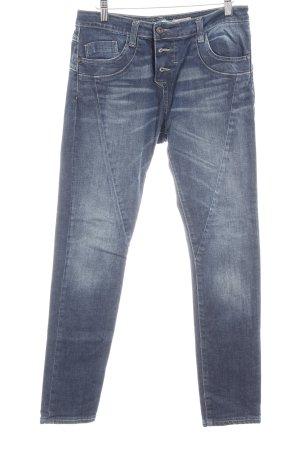 Please Slim Jeans stahlblau Casual-Look