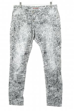 Please Stoffhose florales Muster Casual-Look