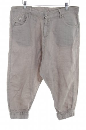 Please Stoffhose graubraun Casual-Look