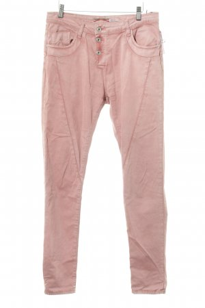 Please Stoffhose roségoldfarben Casual-Look