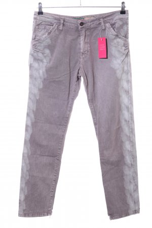 Please Straight-Leg Jeans hellgrau Casual-Look
