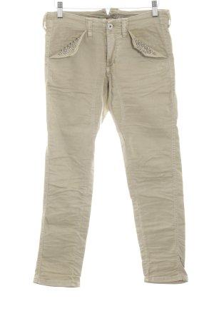 Please Straight-Leg Jeans wollweiß Casual-Look