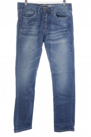 Please Straight-Leg Jeans blau Casual-Look