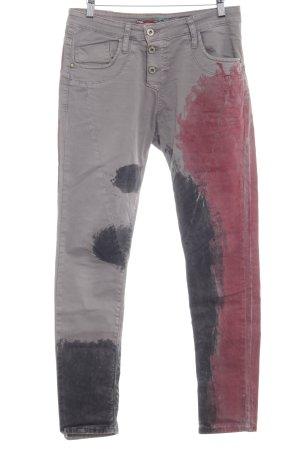 Please Straight-Leg Jeans Farbverlauf schlichter Stil