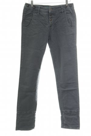 Please Straight-Leg Jeans grau Casual-Look