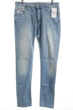 Please Straight-Leg Jeans hellblau Casual-Look