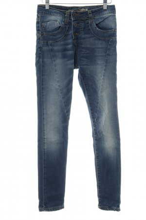Please Straight-Leg Jeans mehrfarbig Washed-Optik