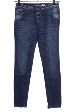 Please Stretch Jeans blau Casual-Look