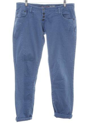 Please Jeans stretch bleu style décontracté