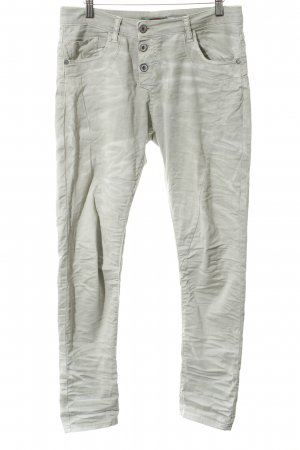 Please Stretch Jeans graugrün Casual-Look