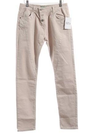 Please Stretch Jeans rosé schlichter Stil