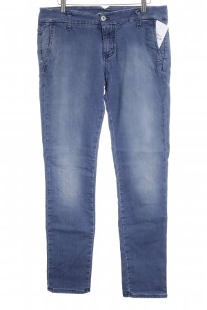 Please Stretch Jeans stahlblau Casual-Look