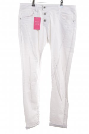 Please Stretch Jeans weiß Casual-Look