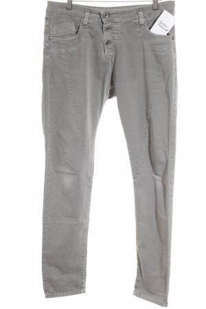 Please Stretchhose grau Casual-Look