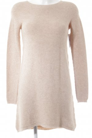 Please Strickkleid rosa Webmuster Casual-Look