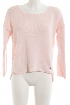 Please Strickpullover hellrosa Casual-Look