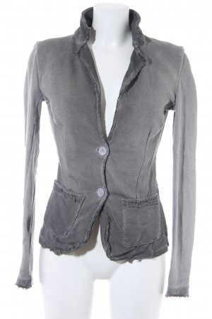 Please Sweatblazer grau Casual-Look