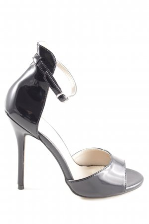 Pleaser USA Tacones de tiras negro look casual