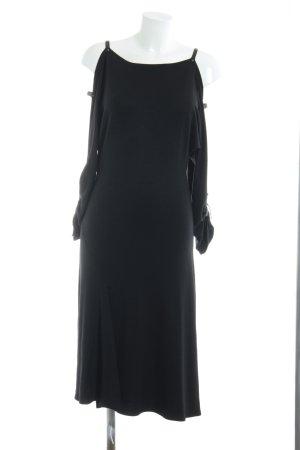 Plein sud A-Linien Kleid schwarz Street-Fashion-Look