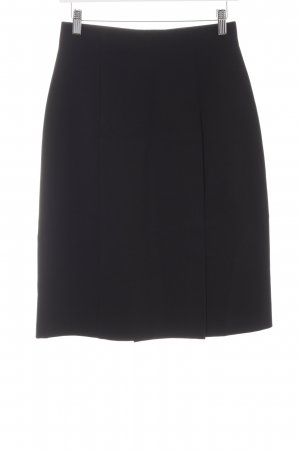 Plein Sud Jeanius Wraparound Skirt black business style
