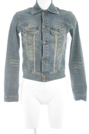 Plein Sud Jeans Jeansjacke mehrfarbig Casual-Look
