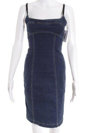 Plein Sud Jeans Jeanskleid blau Casual-Look