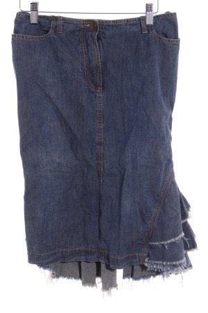 Plein Sud Jeans Jeansrock graublau Casual-Look
