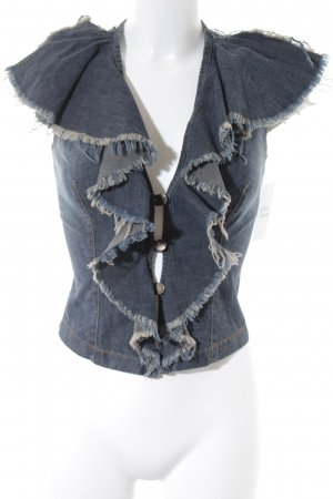 Plein Sud Jeans Muscle Shirt dark blue street-fashion look