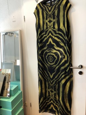 Plein sud Caftan lime yellow-black