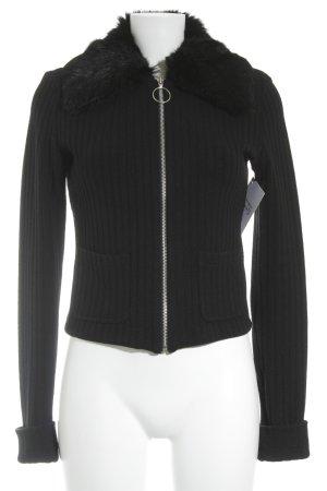 Plein sud Giacca di lana nero elegante